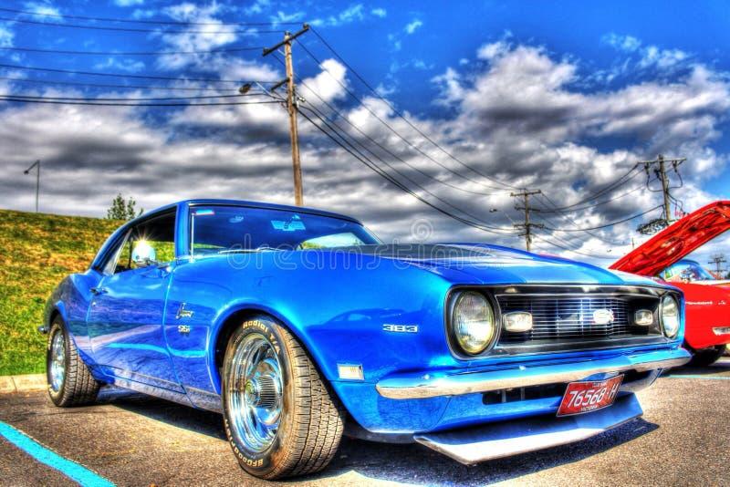 Klassisk 60-talamerikan Chevy Camaro SS royaltyfri foto