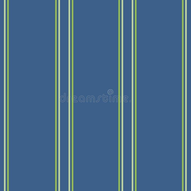 Klassiska blåa band på blått mörker - stock illustrationer