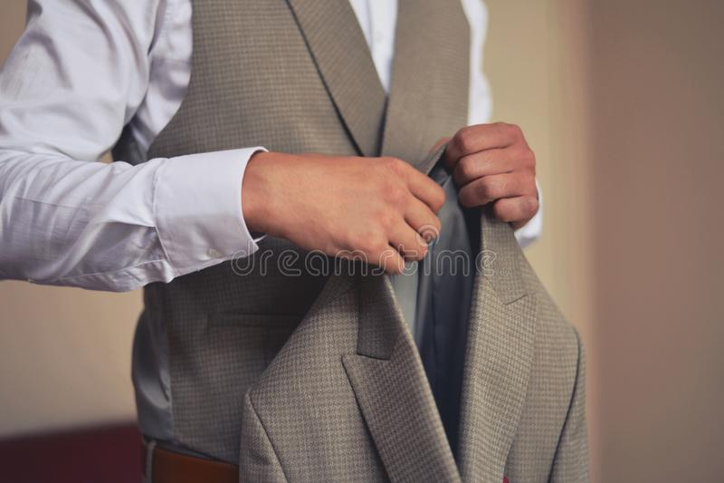 Klassiska män passar för speciala tillfällen royaltyfri bild