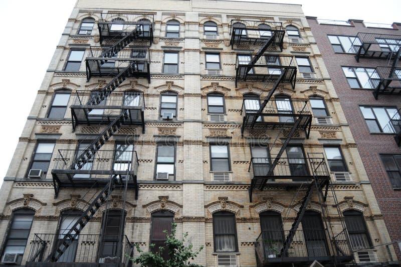 Klassiska New York byggnader fotografering för bildbyråer