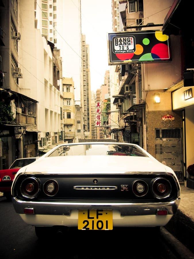 Klassiska Nissan Skyline GT-r royaltyfri bild