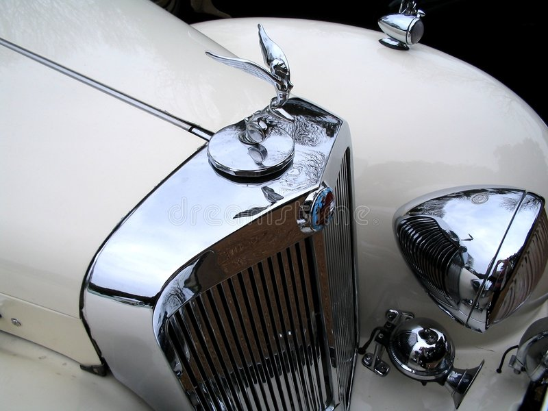 klassiska Rolls Royce royaltyfri foto