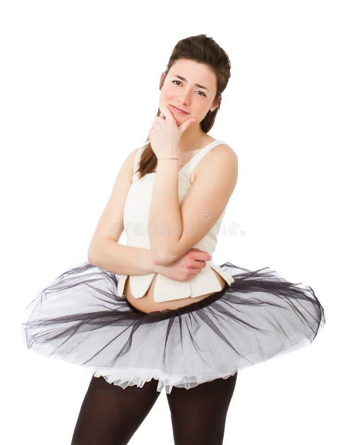 Klassiskt dansareuttryck arkivbilder