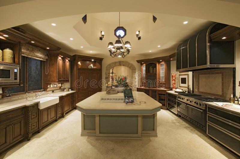 Klassiskt kök royaltyfri foto