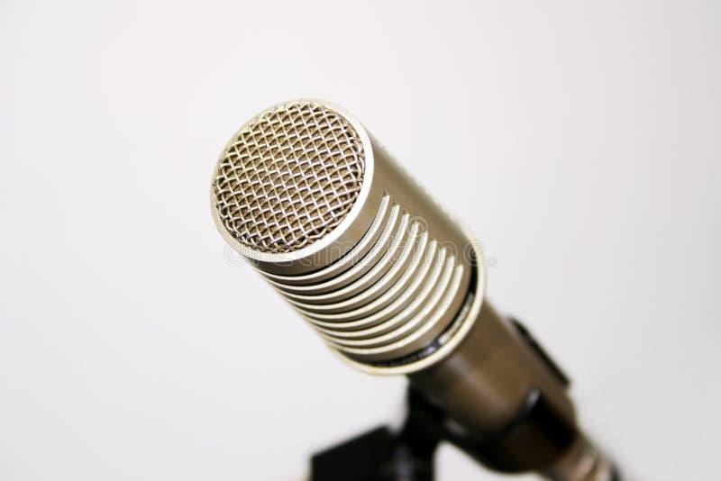 Klassiskt Mikrofonanförande Arkivfoton