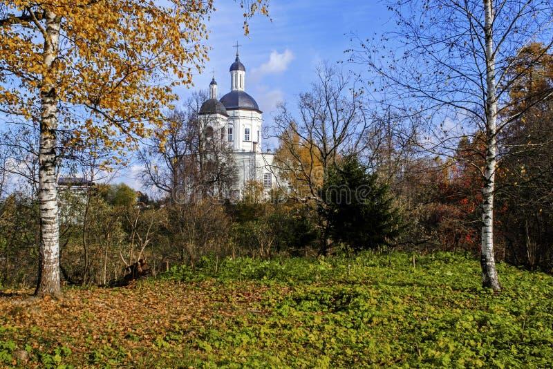 Klassiskt ryskt landskap royaltyfri fotografi