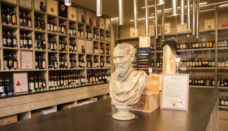 Klassiskt vin shoppar arkivbilder