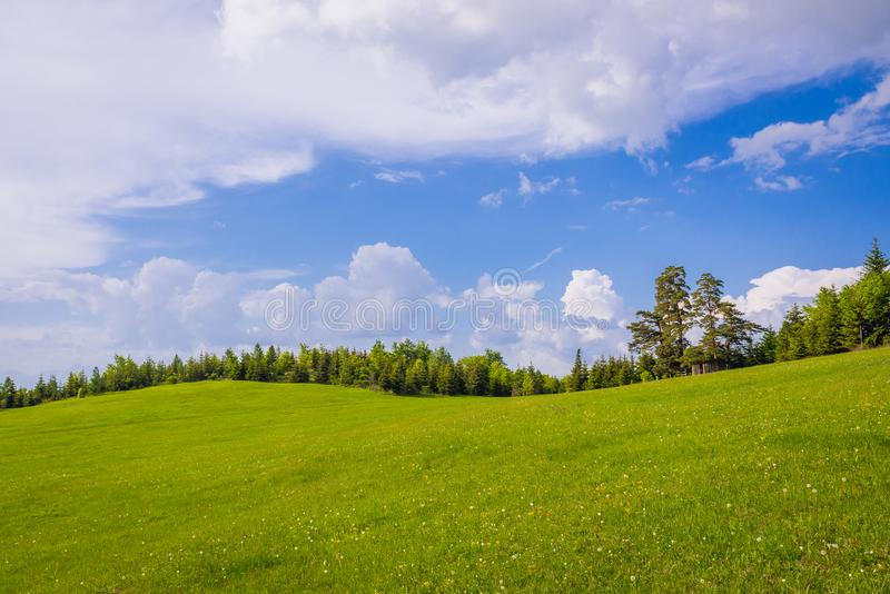 Klastorisko i slovakiskt paradis parkerar arkivbilder