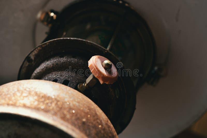 Klasyczna benzyny lampa obrazy stock