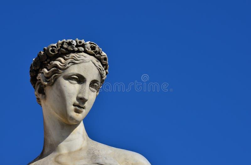 Klasyczna bogini statua zdjęcia stock