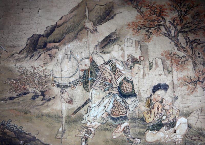 klasyczna chiński obraz ilustracji
