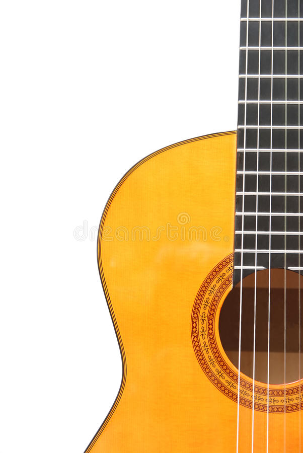 klasyczna gitara obraz royalty free