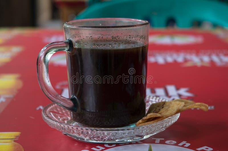 Klasyczna indonezyjczyka stylu kawa, copi/ zdjęcie stock