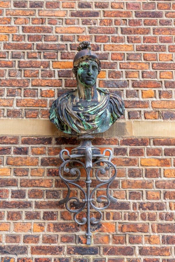 Klasyczna Kopenhaga rzeźba zdjęcia stock