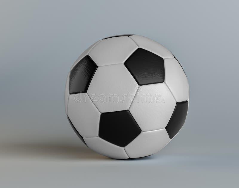 Klasyczna piłki nożnej piłka royalty ilustracja