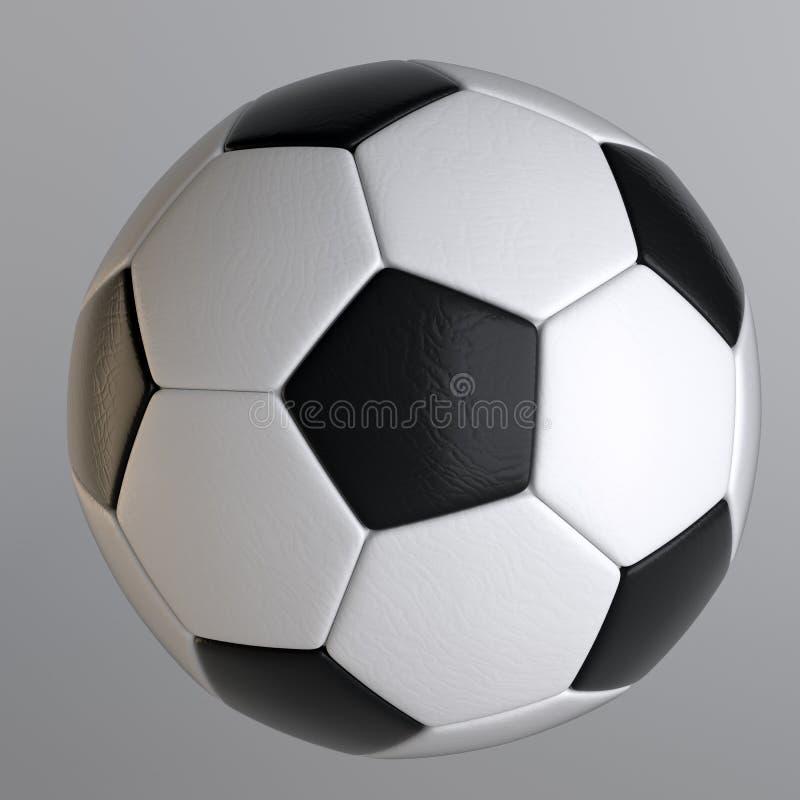 Klasyczna piłki nożnej piłka ilustracja wektor