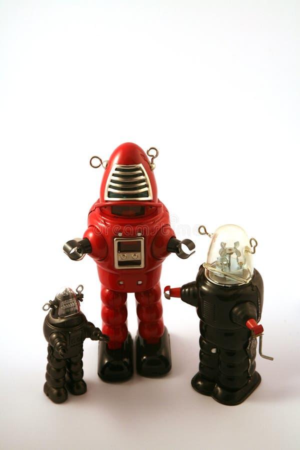 klasyczna robotów cyny zabawka fotografia royalty free