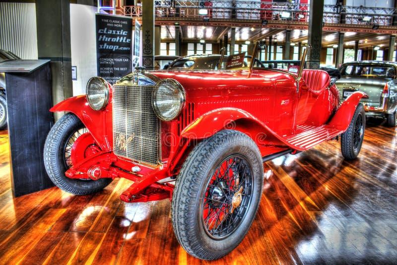 Klasyczna 1920s włoszczyzna Alfa Romeo Zagato zdjęcia stock