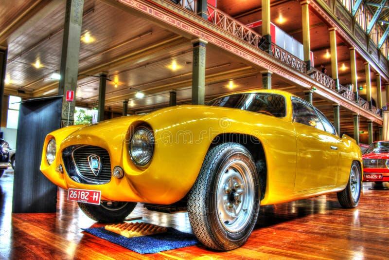 Klasyczna 1950s włoszczyzna Lancia Appia Zagato obraz royalty free