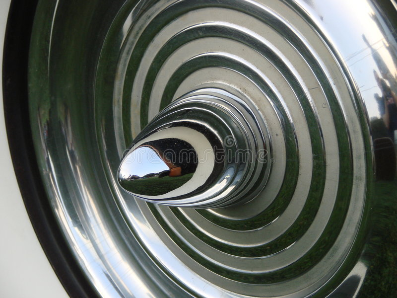 klasyczna samochód koło zdjęcie royalty free
