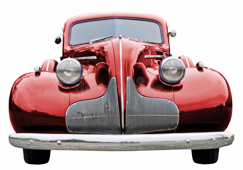 Klasyczna Samochodów Czerwony Zdjęcie Royalty Free