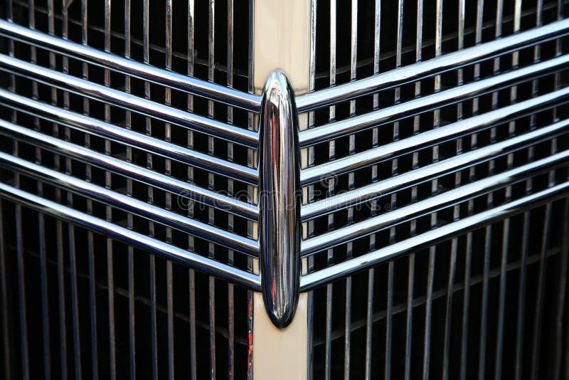 klasyczna samochodowy grill zdjęcia royalty free