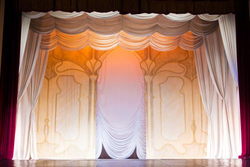 klasyczna scenografia zdjęcie royalty free