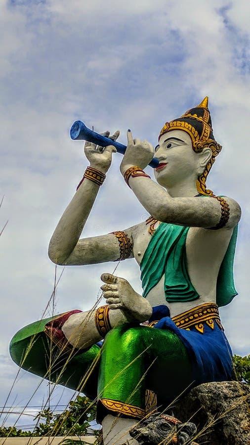 Klasyczna sztuka w Tajlandia fotografia royalty free