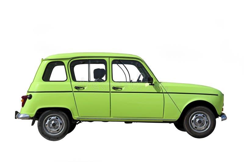 klasyczna zielony samochód fotografia stock