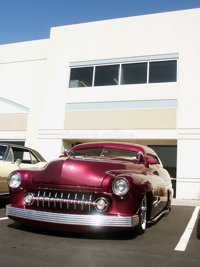 klasyczna zwyczajowo amerykański samochód hot rod obrazy royalty free