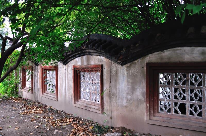 Klasyczne Chińskie ściany zdjęcie royalty free
