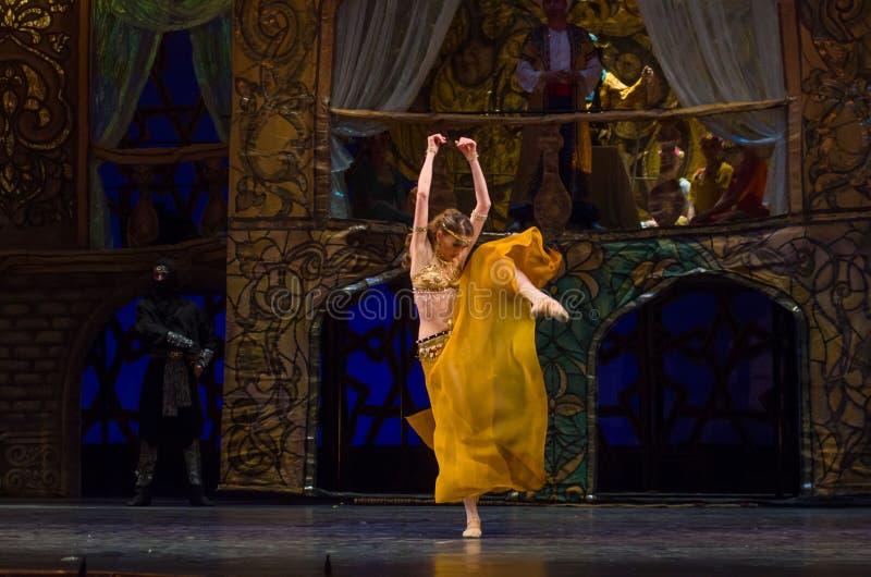 Klasycznego baleta Corsair fotografia royalty free