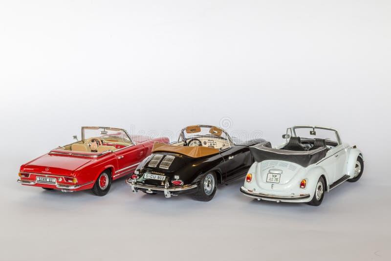 Klasyczni niemieccy samochody zdjęcie stock