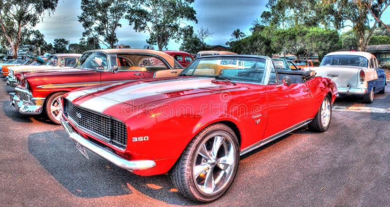 Klasyczni 1960s Chevy SS Camaro fotografia royalty free
