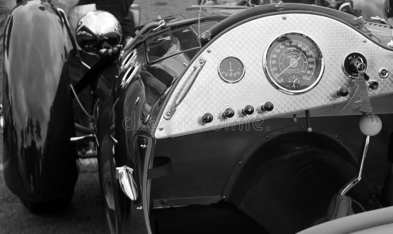 Klasyczni sportów samochodowi wymierniki obrazy royalty free