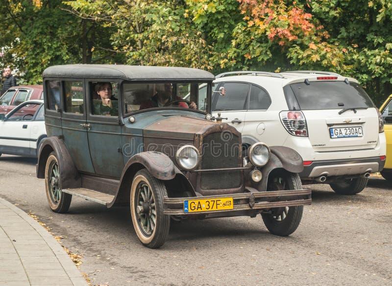 Klasyczny amerykanina Willys samochód zdjęcia royalty free