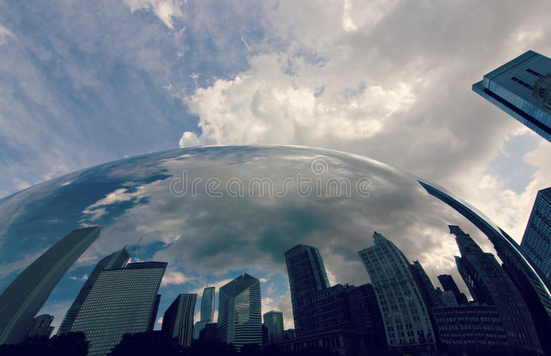 Klasyczny Chicago obrazy royalty free