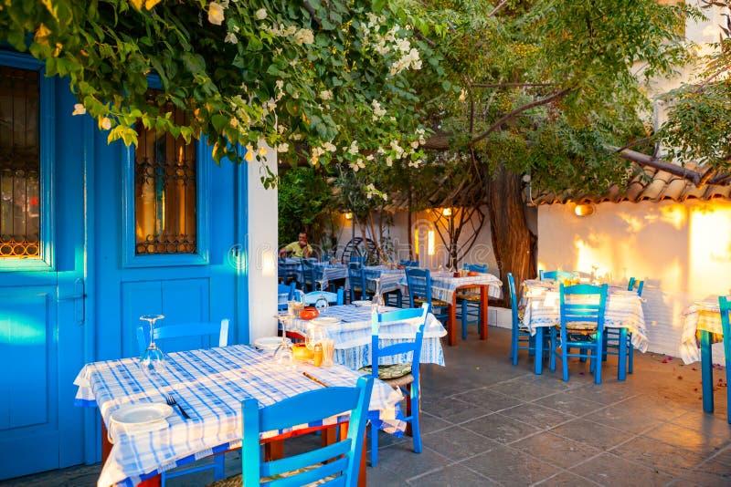 Klasyczny Cypryjski taverna obrazy royalty free