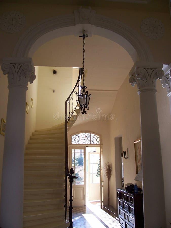 klasyczny drzwi wnętrze obraz stock