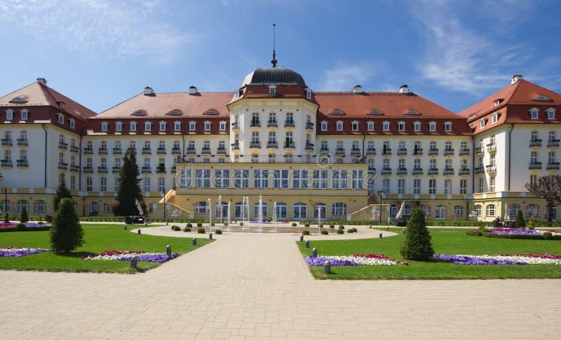 Klasyczny dwór w Sopocie, Polska obraz royalty free