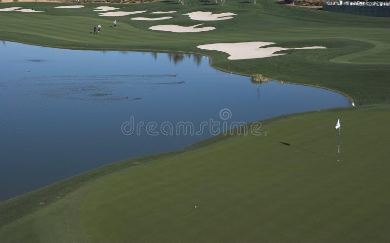 - klasyczny golfa dłonie wiosny zdjęcia stock