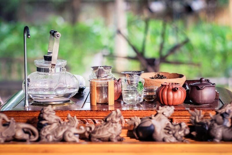Klasyczny herbata set fotografia royalty free