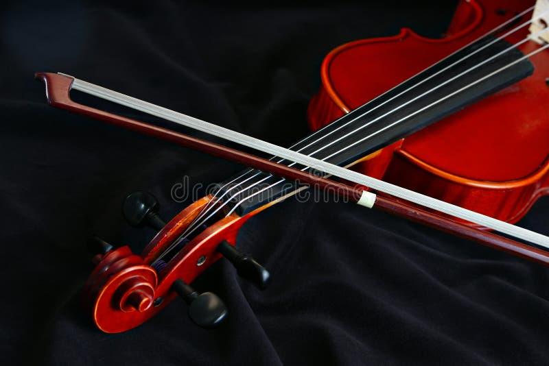 klasyczny instrumentu sznurka skrzypce fotografia royalty free