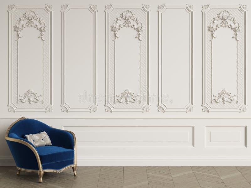 Klasyczny karło w klasycznym wnętrzu z kopii przestrzenią obraz royalty free