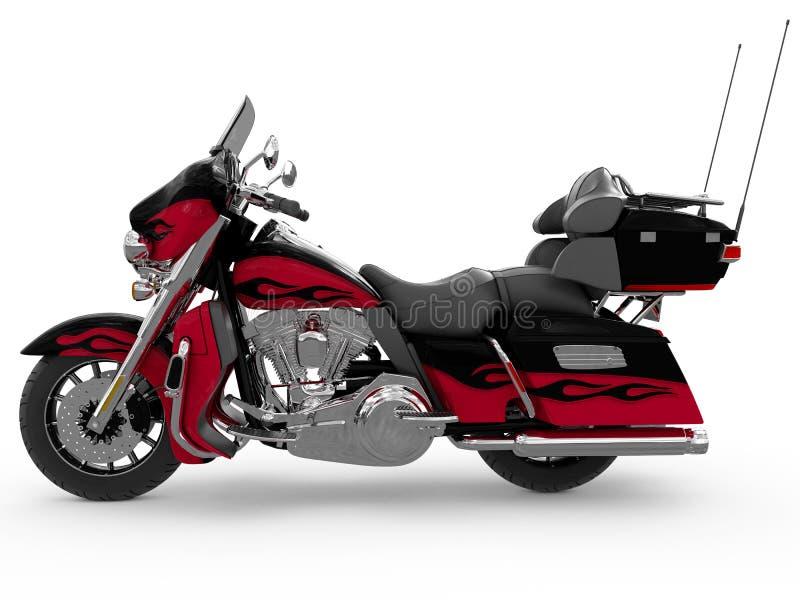 Klasyczny motocykl royalty ilustracja