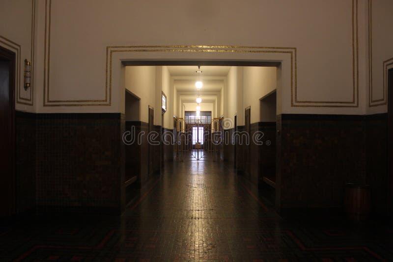 Klasyczny musem korytarz fotografia stock