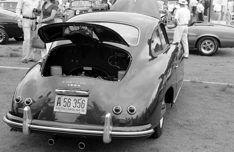 Klasyczny niemiecki sporta samochodu początkowy zdjęcia stock