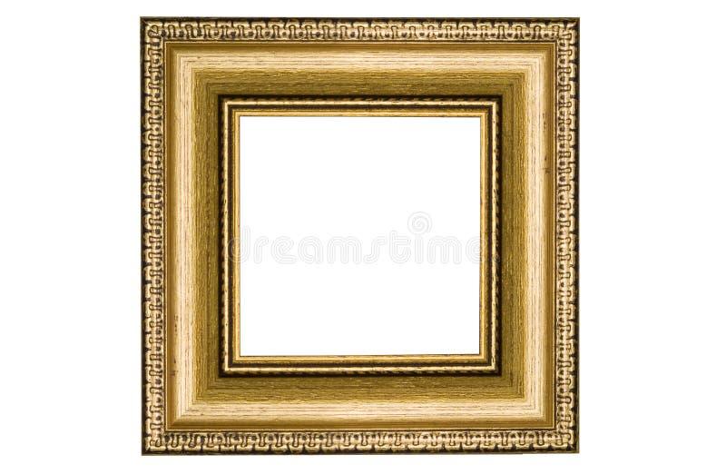 klasyczny ramowy golden square obraz stock