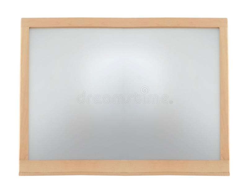 klasyczny ramy pojedynczy biały drewna zdjęcia stock