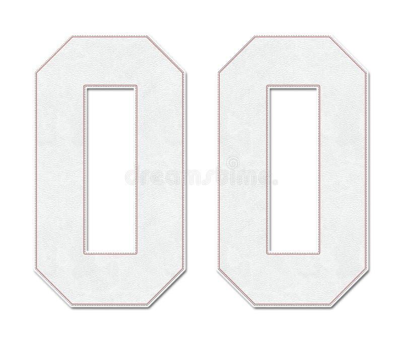 Klasyczny rocznika baseballa sporta bydło liczba 00 w spojrzeniu, projekcie, logo i koszula baseball piłki stylu,/ royalty ilustracja